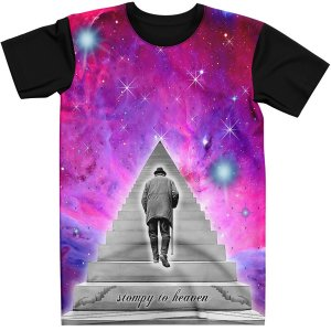 Stompy Camiseta Psicodelica Rave Trippy 10