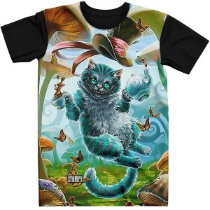 Stompy Camiseta Psicodelica Rave Trippy 15