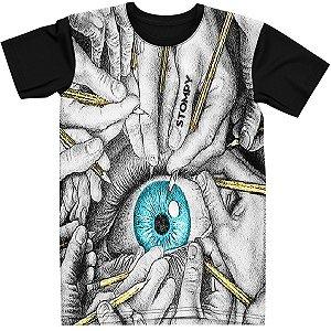 Stompy Camiseta Psicodelica Rave Trippy 26