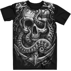 Stompy Camiseta Tattoo Tatuagem Skull Caveira 02
