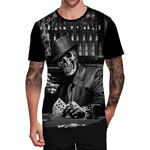 Stompy Camiseta Tattoo Tatuagem Skull Caveira 06
