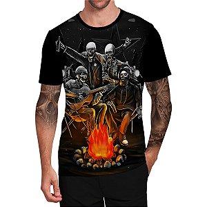 Stompy Camiseta Tattoo Tatuagem Skull Caveira 37