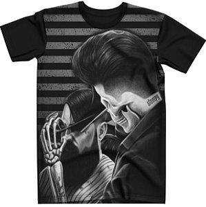 Stompy Camiseta Tattoo Tatuagem Skull Caveira 42