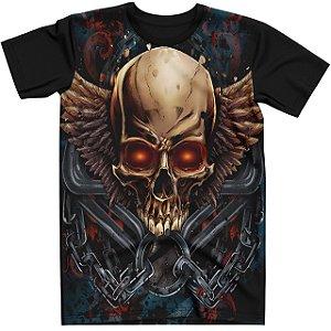 Stompy Camiseta Tattoo Tatuagem Skull Caveira 50