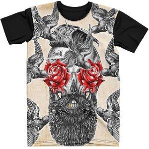 Stompy Camiseta Tattoo Tatuagem Skull Caveira 52