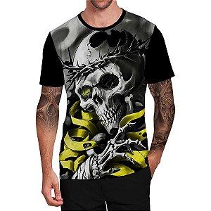 Stompy Camiseta Tattoo Tatuagem Skull Caveira 68