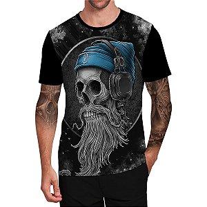 Stompy Camiseta Tattoo Tatuagem Skull Caveira 73