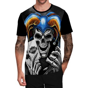 Stompy Camiseta Tattoo Tatuagem Skull Caveira 77