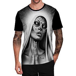 Stompy Camiseta Tattoo Tatuagem Skull Caveira 80