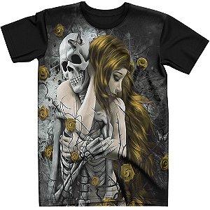Stompy Camiseta Tattoo Tatuagem Skull Caveira 106