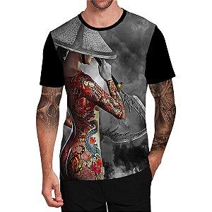 Stompy Camiseta Tattoo Tatuagem Skull Caveira 114