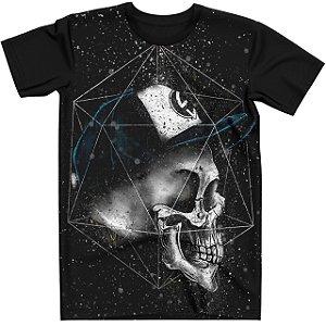 Stompy Camiseta Tattoo Tatuagem Skull Caveira 130