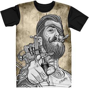 Stompy Camiseta Tattoo Tatuagem Skull Caveira 138