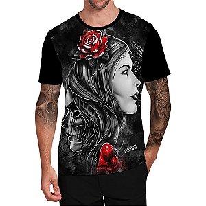 Stompy Camiseta Tattoo Tatuagem Skull Caveira 139