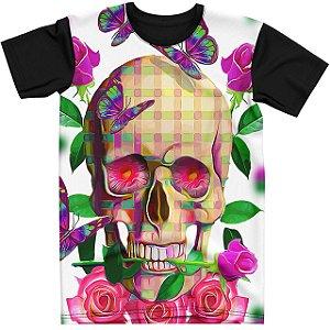 Stompy Camiseta Tattoo Tatuagem Skull Caveira 141