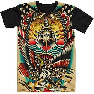 Stompy Camiseta Tattoo Tatuagem Skull Caveira 145