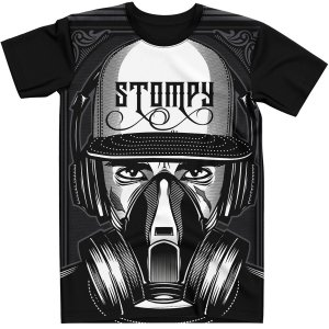 Stompy Camiseta Estampada Exclusiva 22