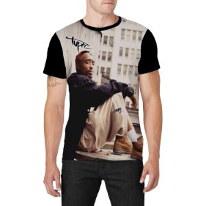Stompy Camiseta Hip Hop Black Rap Music