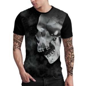 Stompy Camiseta Estampada Skull Space
