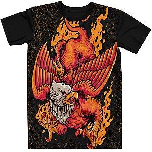 Stompy Camiseta Estampada Fire Eagle