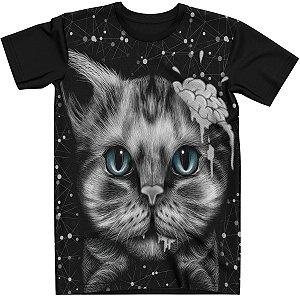 Stompy Camiseta Brain Cat