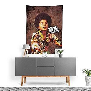 Stompy Tecido Decorativo Tactel Michael Jackson