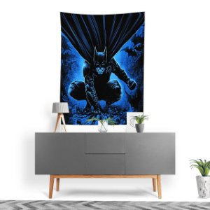 Stompy Tecido Decorativo Tactel Batman