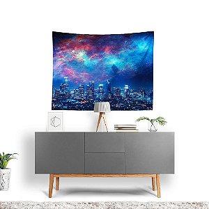 Stompy Tecido Decorativo Tactel Nebula