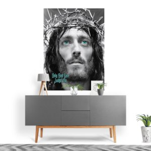Stompy Tecido Decorativo Tactel Jesus