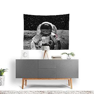 Stompy Tecido Decorativo Tactel Astronaut