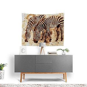 Stompy Tecido Decorativo Tactel Zebras