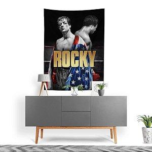 Stompy Tecido Decorativo Tactel Rocky Balboa