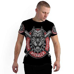 Stompy Camiseta Full Print Pitbull