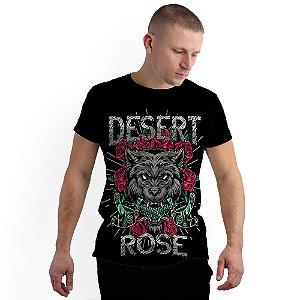 Stompy Camiseta Full Print Desert Roses