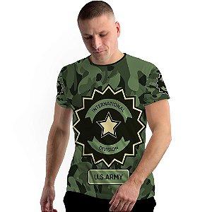 Stompy Camiseta Full Print Military Division