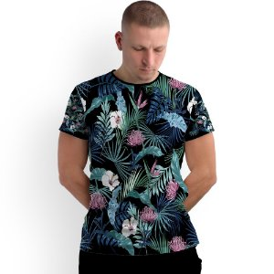 Stompy Camiseta Full Print Florals