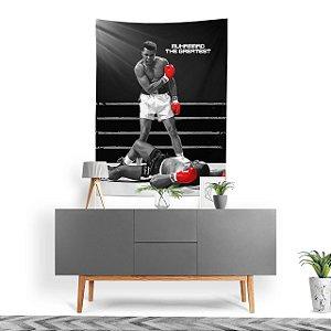 Stompy Tecido Decorativo Tactel Muhammad Ali