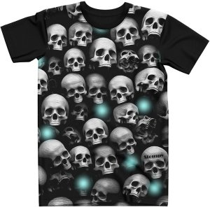 Stompy Camiseta Estampada Skulls Tattoo