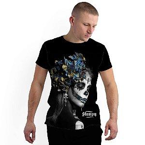 Stompy Camiseta Full Print Catrina Face