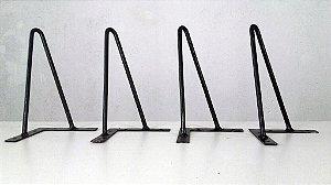 4 Hairpin Legs com 25cm de altura