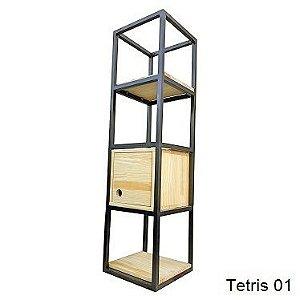 Linha Tetris - Nichos Decorativos para Parede - Modelos 01 a 05