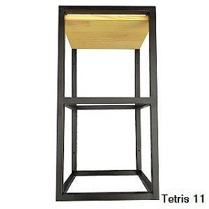 Linha Tetris - Nichos Decorativos para Parede - Modelos 11 a 15