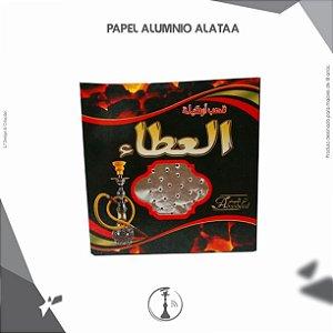 PAPEL ALUMINIO PARA NARGUILE ALATAA 20 FOLHAS