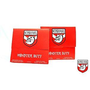 Alumínio Super foil - Monster Duty 50 folhas- X10
