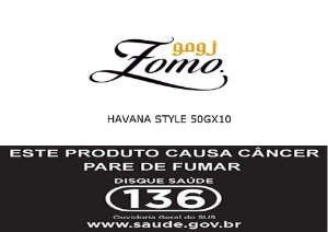 ESSÊNCIA ZOMO HAVANA STYLE 50GX10