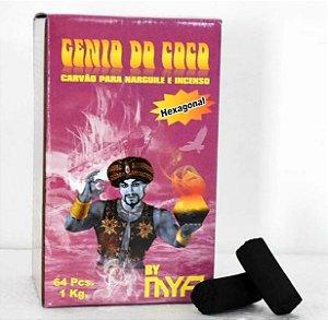 CARVÃO MYA GÊNIO DO COCO 64 PEÇAS