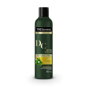 Shampoo TRESemmé Detox Capilar 400ml - Shampoo Tresemmé