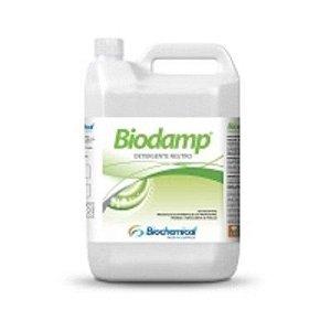 BIODAMP Galão 5 Lts - Limpeza Diária de Piso, com Cera, ardósia, vinílico, paviflex, cerâmico, borracha - Biochemical