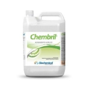 CHEMBRIL Galão 5 Lts - Cera de acabamento Acrílico - Polímeros metalizados e polietileno, Biochemical