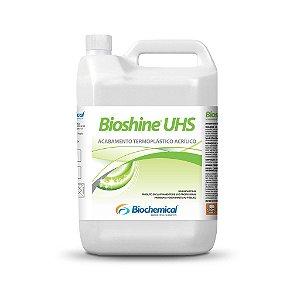 BIOSHINE UHS Galão 5 Lts - Acabamento Acrílico termoplástico metalizado auto brilho, resistente a água e detergente - Bi